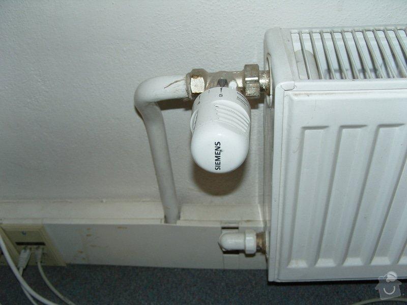 Výměna ventilů topeni + celková kontrola topení: ventil_siemens