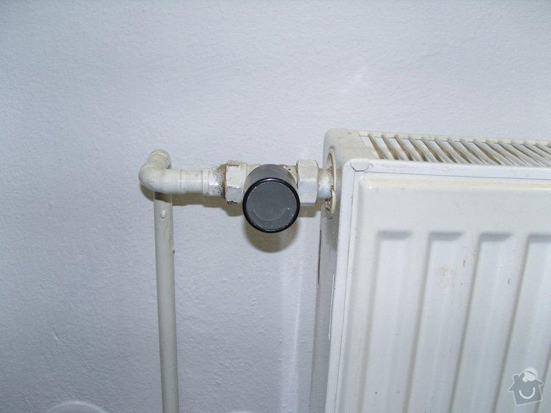 Výměna ventilů topeni + celková kontrola topení: ventil_jiny