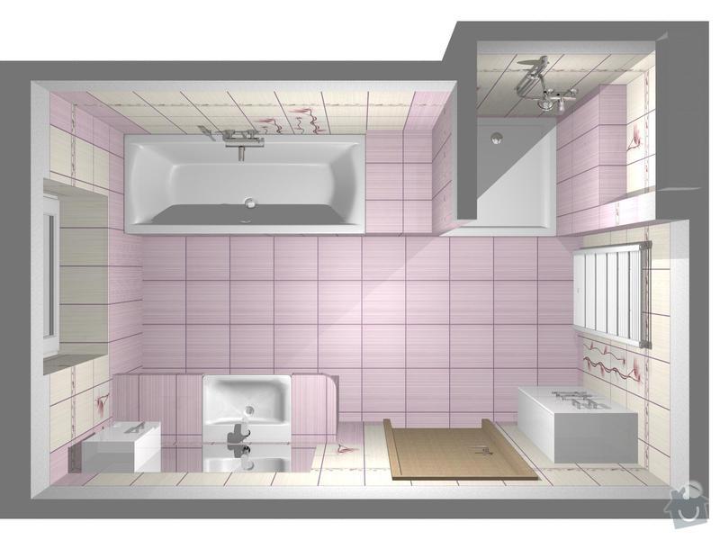Obklad 2x koupelna a 2x WC: koupelna_Orfe_1_1