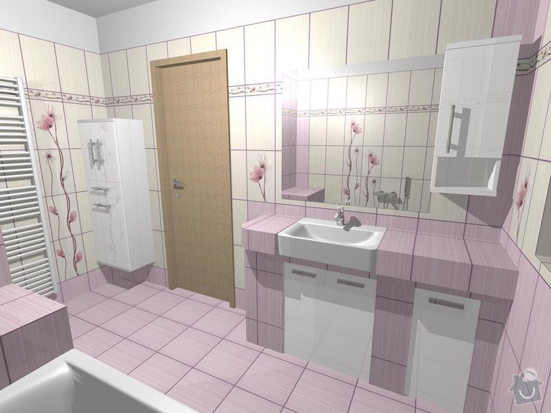 Obklad 2x koupelna a 2x WC: koupelna_Orfe_1_3