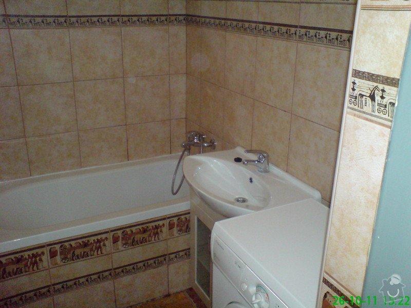 Rekonstrukce koupelny v rodinném domku: DSC00013