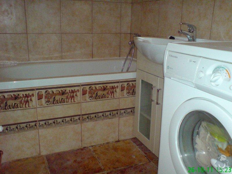Rekonstrukce koupelny v rodinném domku: DSC00018