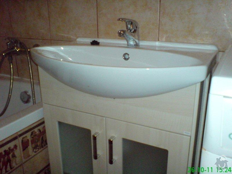 Rekonstrukce koupelny v rodinném domku: DSC00020