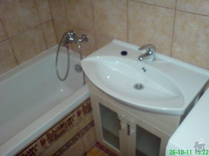 Rekonstrukce koupelny v rodinném domku: DSC00014