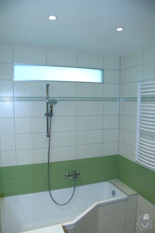 Rekonstrukce koupelny: 002
