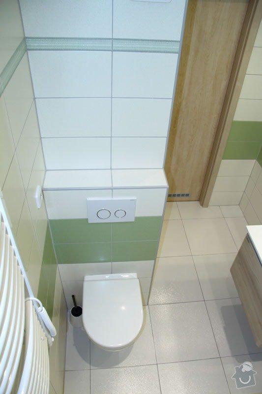 Rekonstrukce koupelny: 004