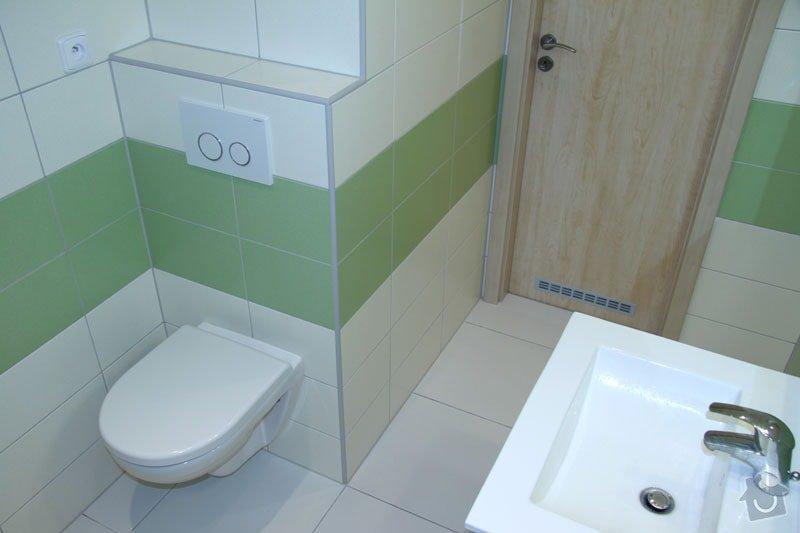 Rekonstrukce koupelny: 006