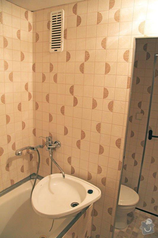 Rekonstrukce koupelny: 014