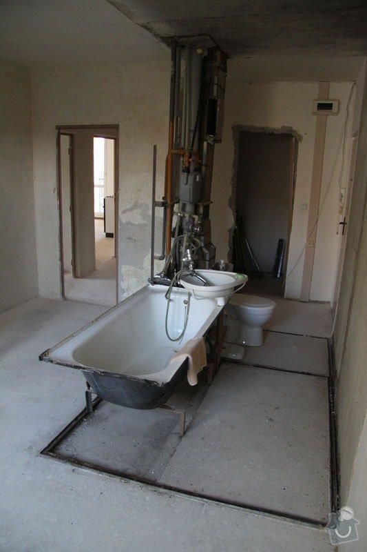 Rekonstrukce koupelny: 015