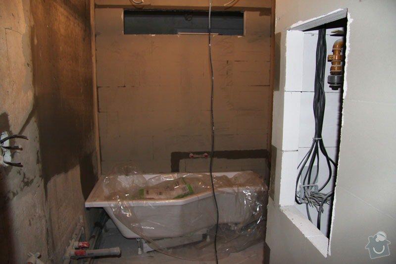 Rekonstrukce koupelny: 017