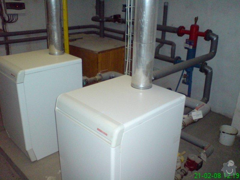 Montáž plynové kotelny: DSC00081