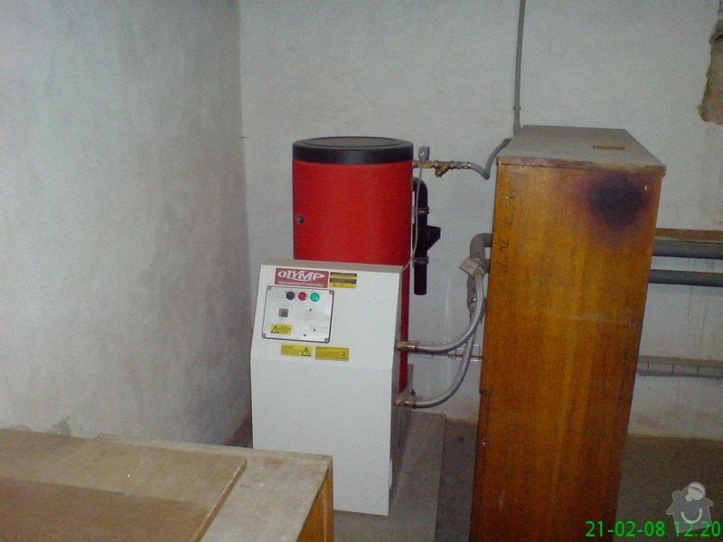 Montáž plynové kotelny: DSC00082