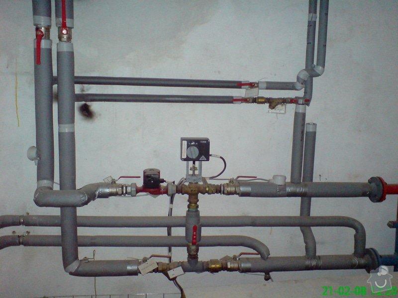 Montáž plynové kotelny: DSC00083