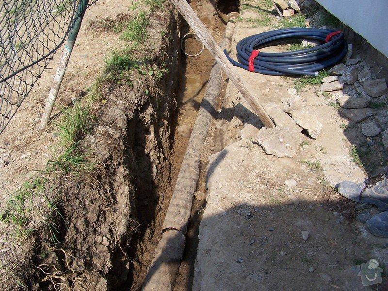 Výměna kanalizace, položení nové přípojky vody: 101_6958
