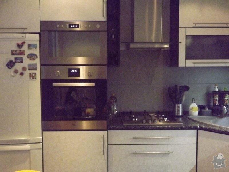 Výroba kuchyňské linky: DSCF1038
