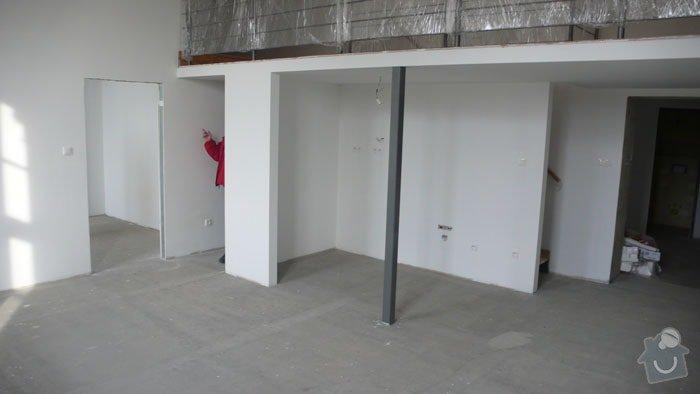Atypický mezonetový apartmán - doplnění - bar z nerezu a hliníku: kk