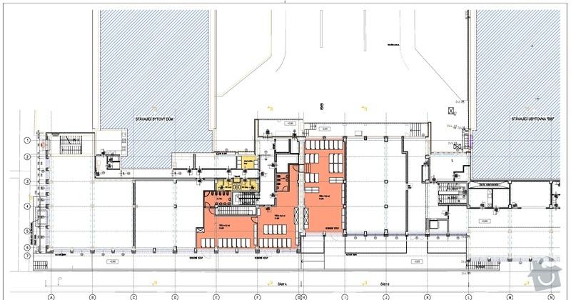 Pokládka PVC lina a koberce - ca. 350m2 popřípadě plovoucí podlahy nebo dlažby: oranzova_plocha_2