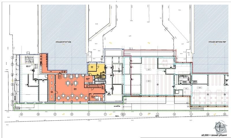 Pokládka PVC lina a koberce - ca. 350m2 popřípadě plovoucí podlahy nebo dlažby: oranzova_plocha