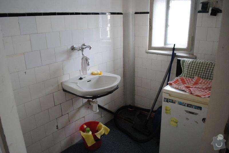 Kompletní rekonstrukce malého bytu: Puvodni_stav_004_zmensena