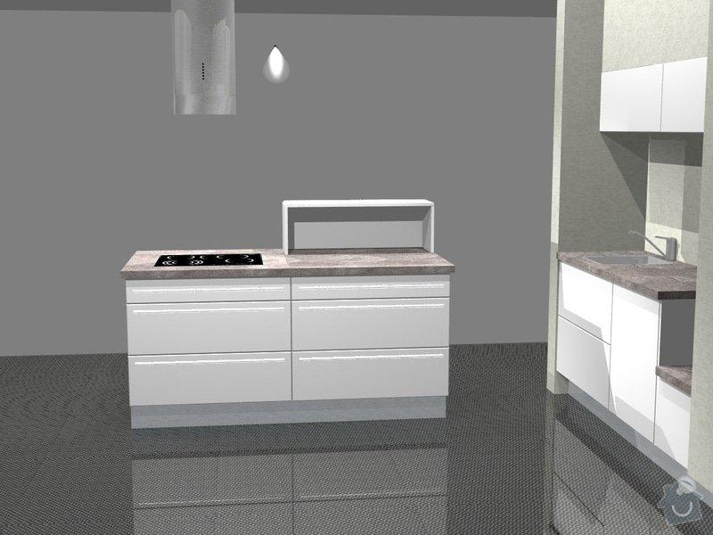 Kuchyn vysoky lesk dle navrhu od kuchynskeho studia: 41190-1