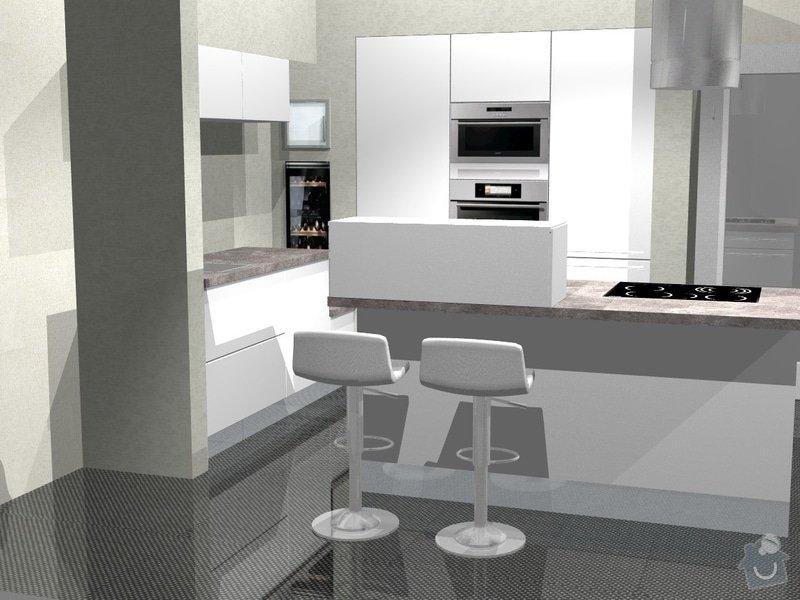 Kuchyn vysoky lesk dle navrhu od kuchynskeho studia: 41190-2