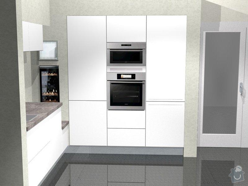 Kuchyn vysoky lesk dle navrhu od kuchynskeho studia: 41190-3