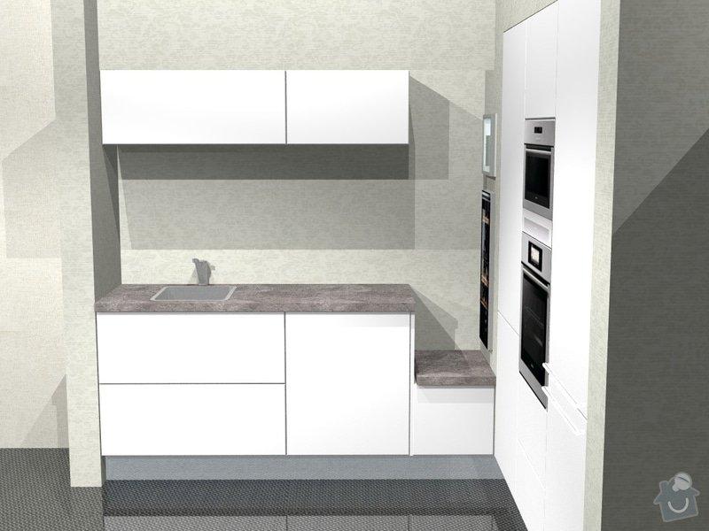 Kuchyn vysoky lesk dle navrhu od kuchynskeho studia: 41190-4