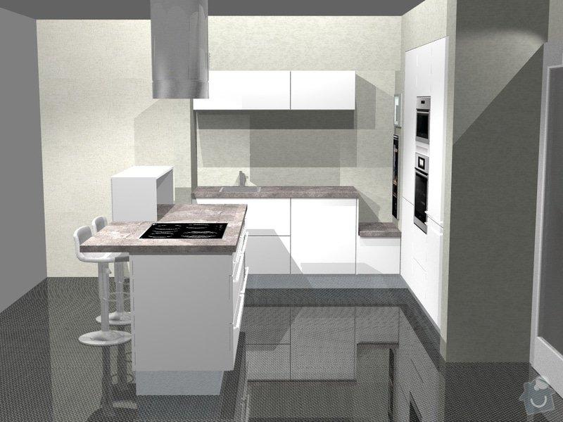 Kuchyn vysoky lesk dle navrhu od kuchynskeho studia: 41190-5