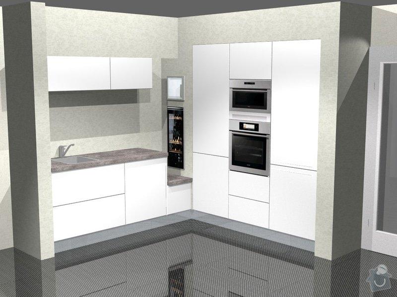Kuchyn vysoky lesk dle navrhu od kuchynskeho studia: 41190-6