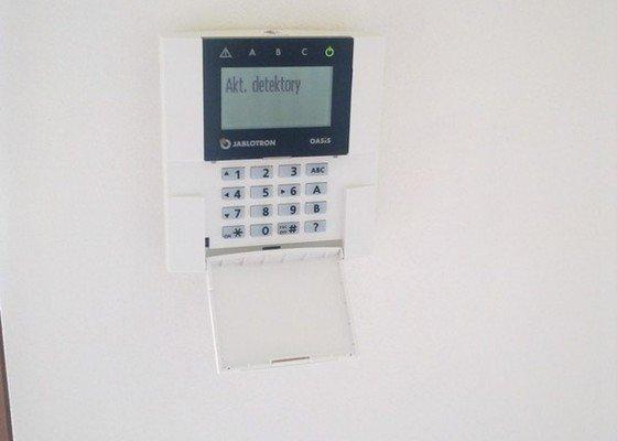 Zabezpečovací zařízení - RD novostavba