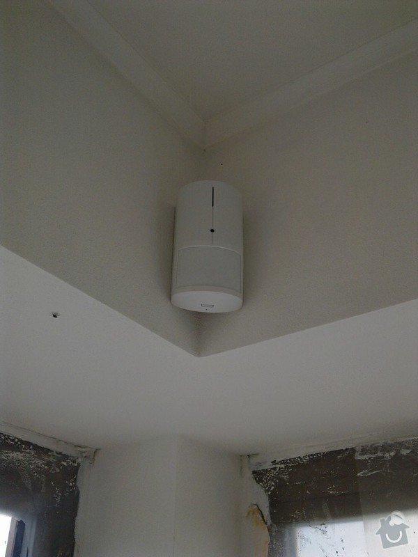 Zabezpečovací zařízení - RD novostavba: 06082012546
