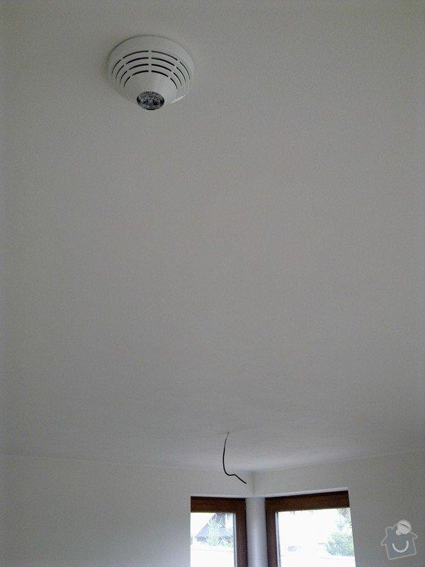 Zabezpečovací zařízení - RD novostavba: 06082012547