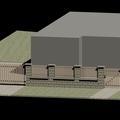 Venkovni pochozi plochy stavba plotu sykora plot 3d