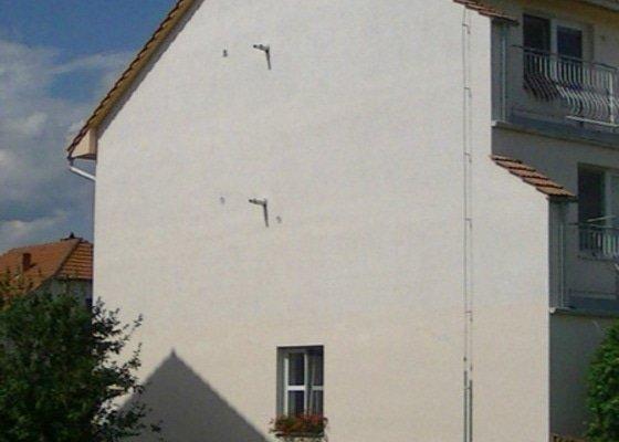 Zateplení štítů bytových domů