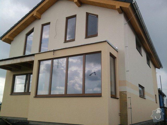 Zateplení dřevostavby systémem Steico Protect: Fotografie0668