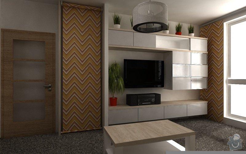 Návrh interiéru pokoje: byt04-uprava