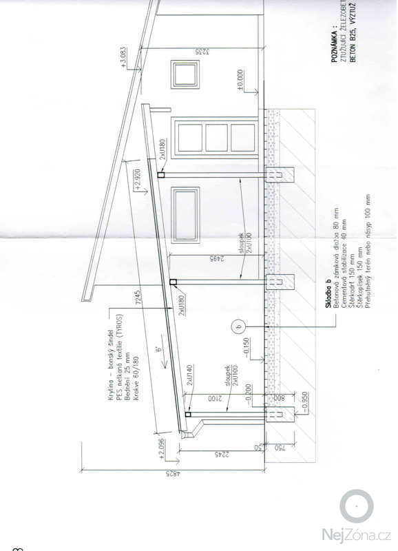 Stavbu krytého stání pro dvě auta ze dřeva: garaz2