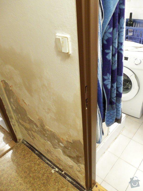 Instalatér - odhalení a fixace netěsnosti sprchového koutu: 100_0531