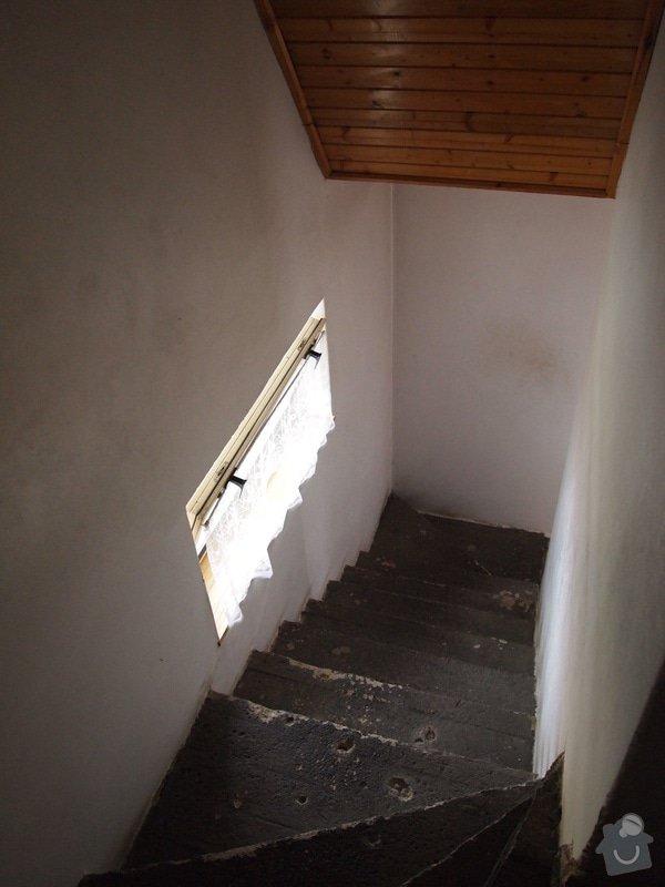 Položení dlažby na schody: P5311040