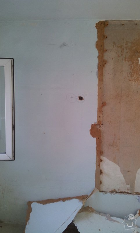 Rekonstrukce dvou pokojů: 20120723_094133