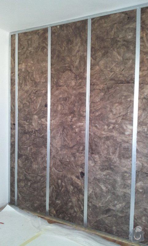 Odhlučnění mezibytové stěny v ložnici: 20120802_105426