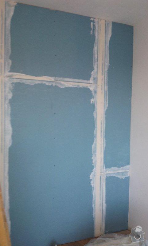 Odhlučnění mezibytové stěny v ložnici: 20120802_112103