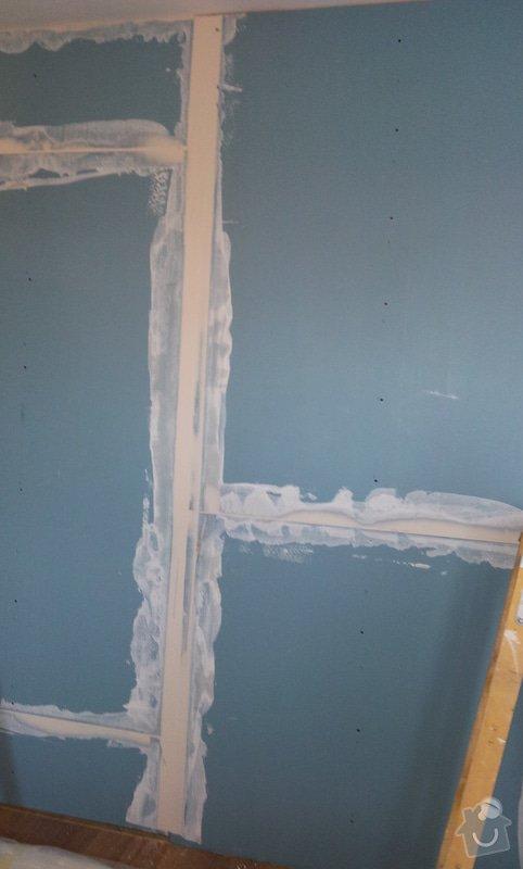 Odhlučnění mezibytové stěny v ložnici: 20120802_112112