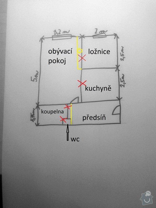Kompletní rekonstrukce bytu 1+1 (37m2): _BYT_ROZMERY_PROSPEKT