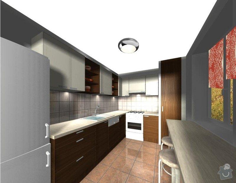Rekonstrukce kuchyně - včetně výroby skříněk: 4