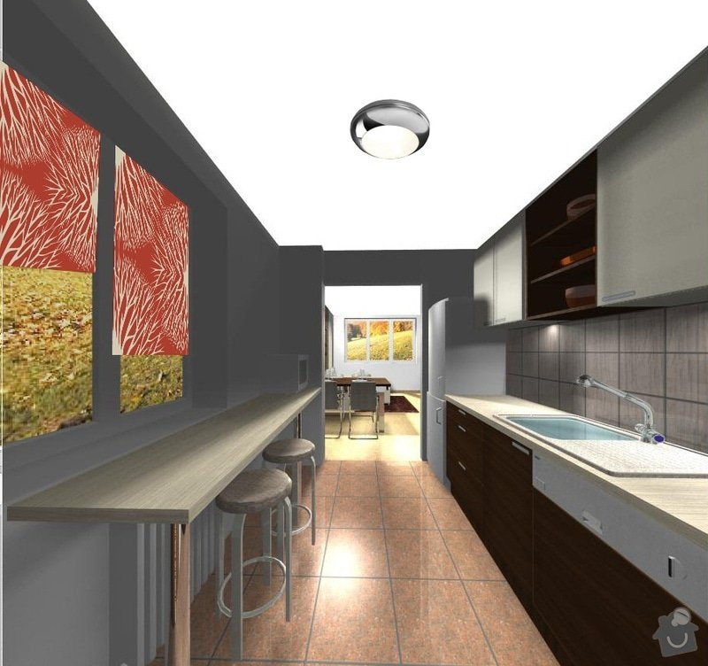 Rekonstrukce kuchyně - včetně výroby skříněk: 5