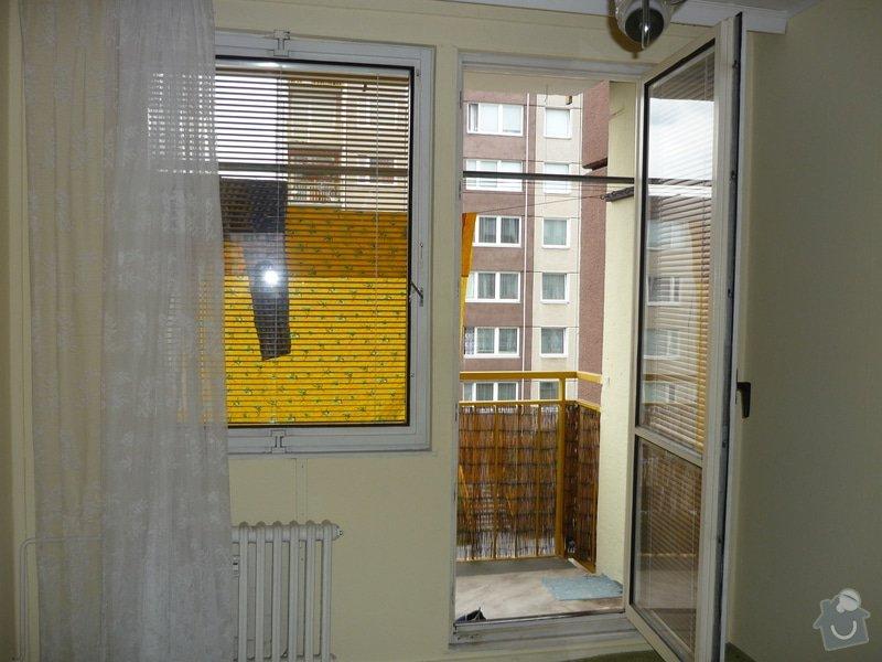Výměna oken za plastová (panelákový byt 3+1): P1040095