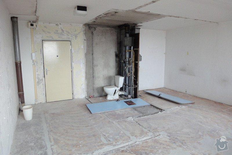 Rekonstrukce panelového bytu 35,7 m2: DSC04627