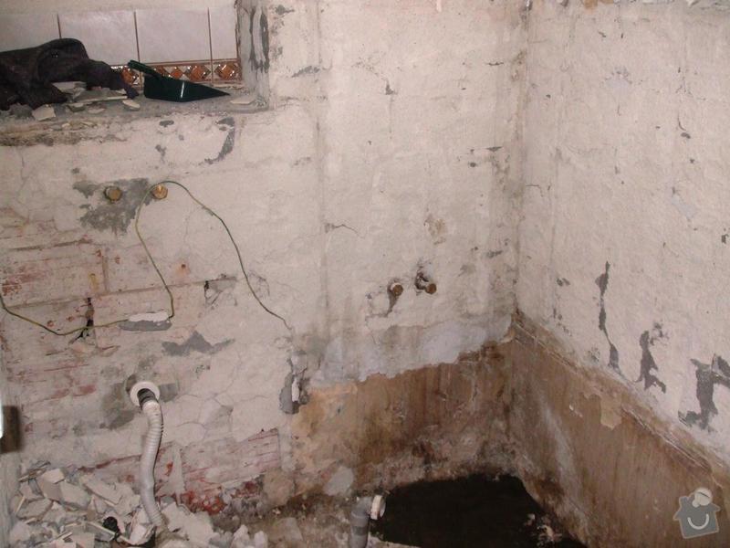 Rekonstrukce koupelny: DSCF5901