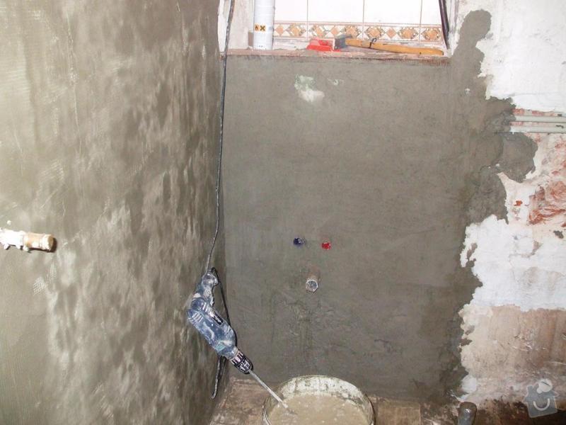 Rekonstrukce koupelny: DSCF5907